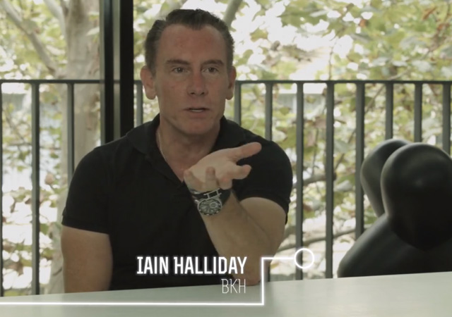 Interview with Ian Halliday